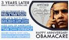 obamacare 3 years later