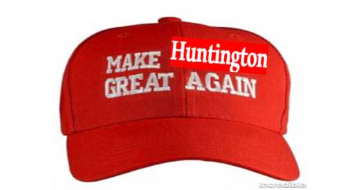 make huntington great again hat